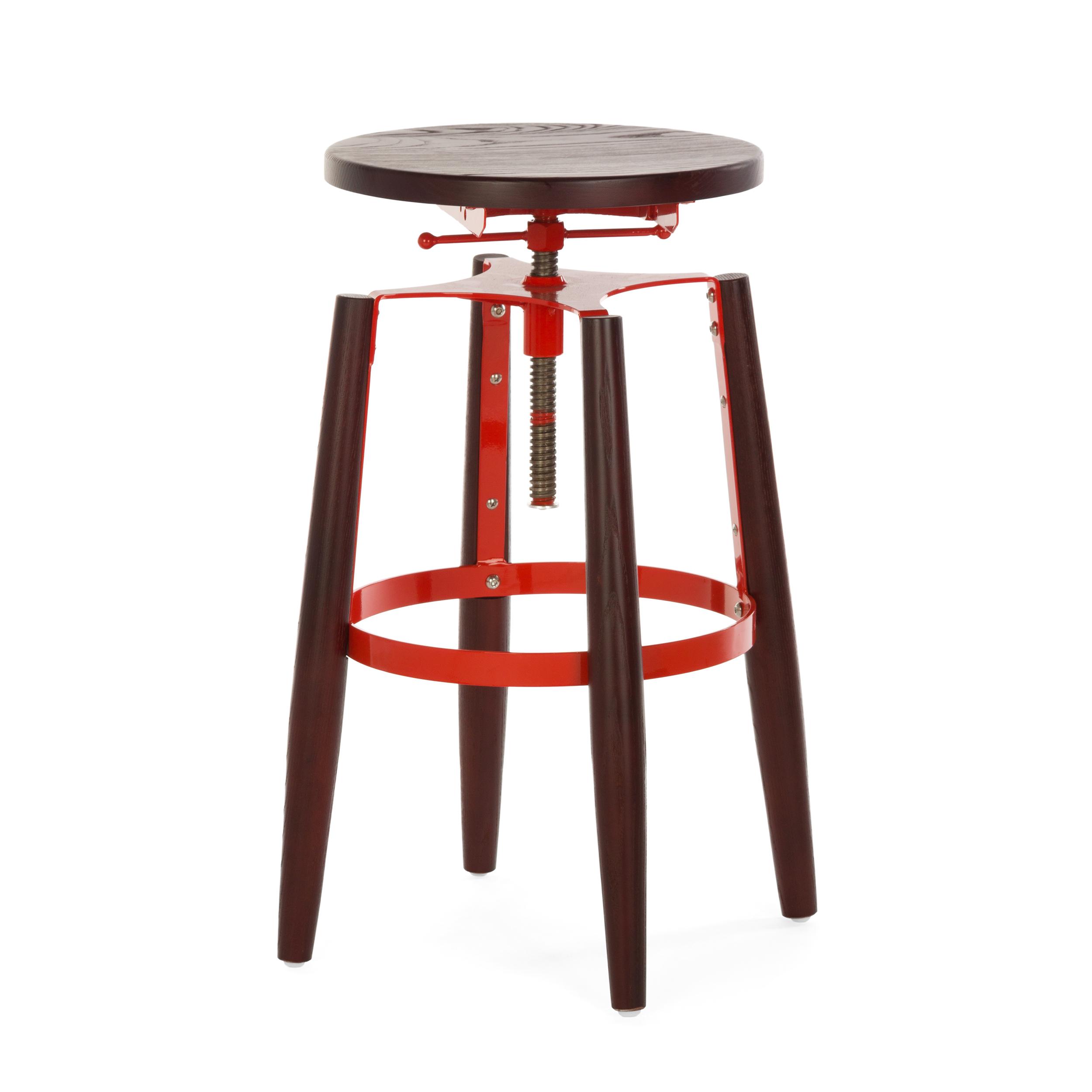 Полубарный стул Cosmo Сosmo 161015, красный