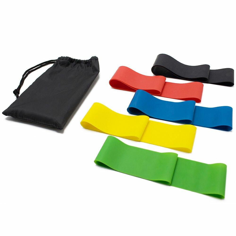 Набор резинок для фитнеса 5 шт