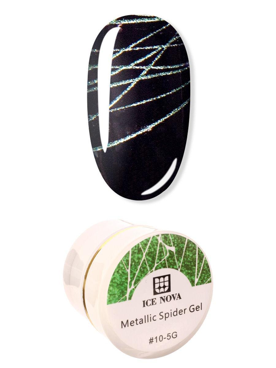 Купить Гель-лак Spider gel 10 ICE NOVA, Гель-лак для ногтей 10