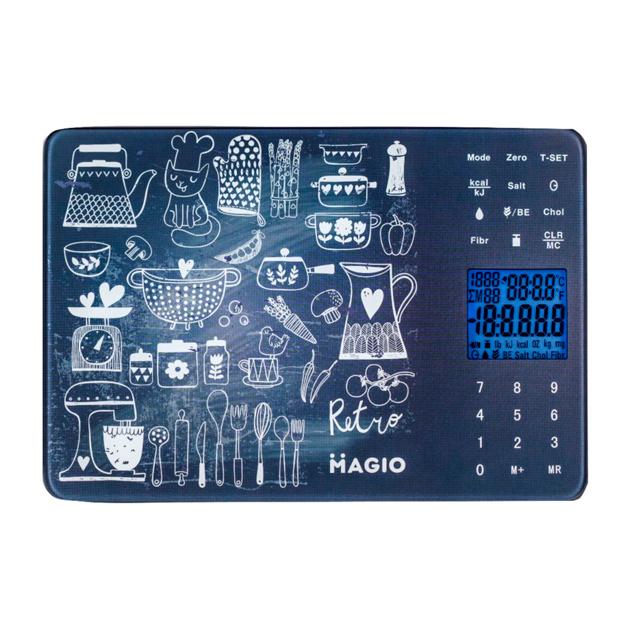 Весы кухонные MAGIO MG-692 Dark/Blue