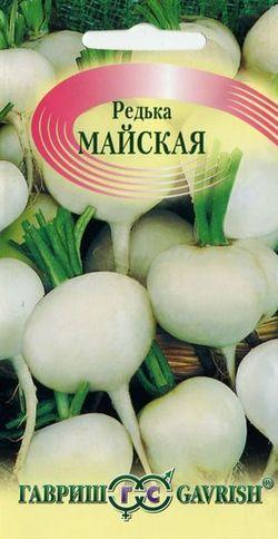 Семена овощей Гавриш Редька Майская 1,0 г