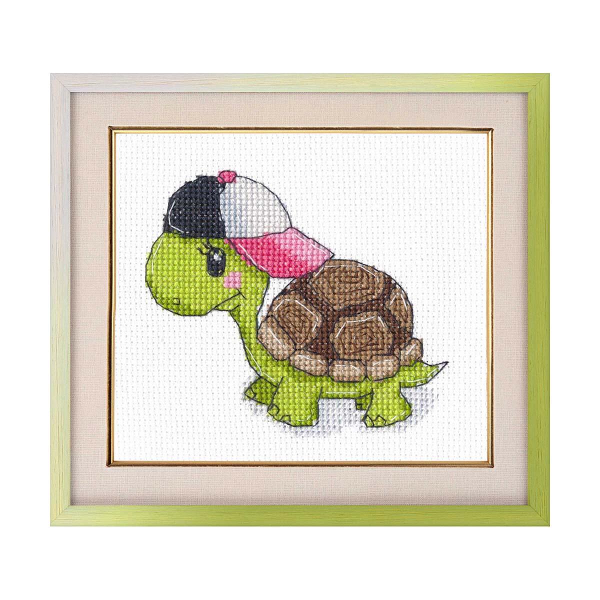 Набор для вышивания Черепашонок 9 × 10см арт. 1279 ОВЕН фото