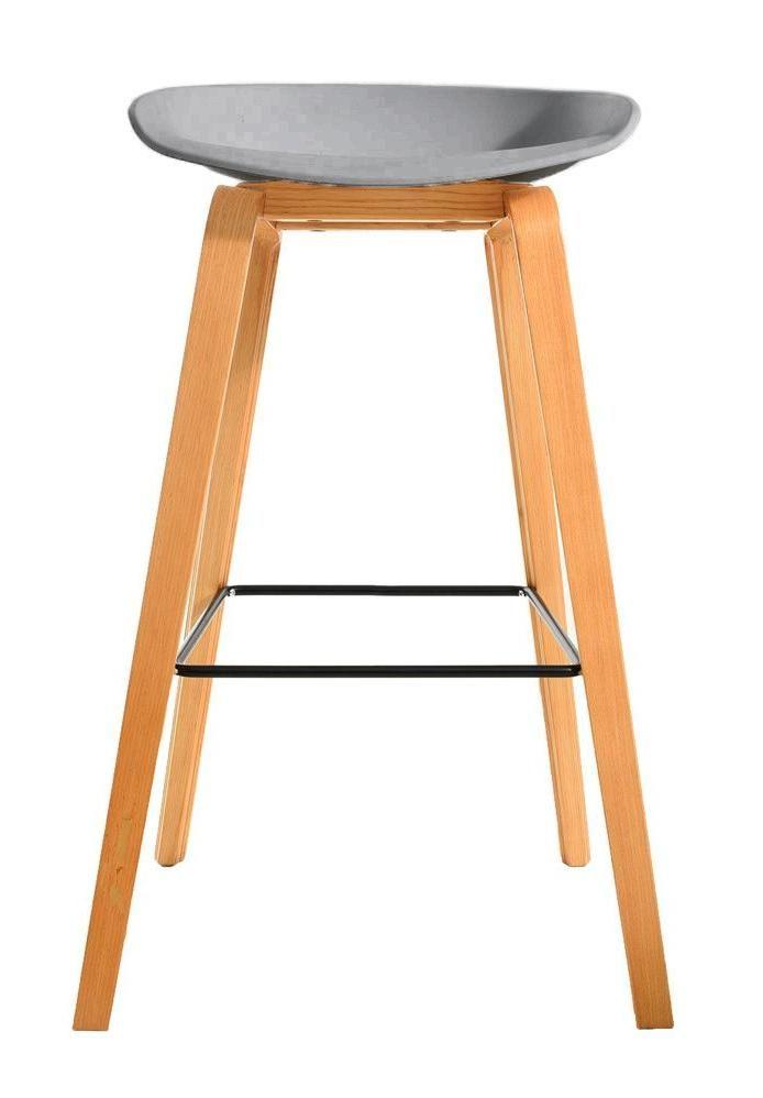 Барный стул Bradex Home Quadro серый /FR 0089