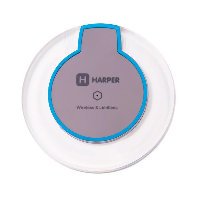 Беспроводное зарядное устройство HARPER QCH-3090 GREY