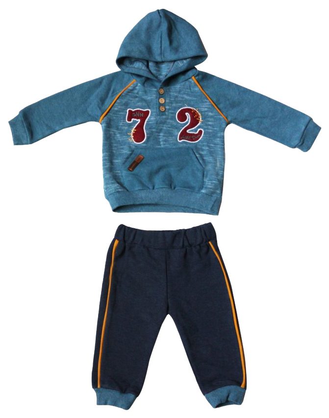 Купить 5157-01, Комплект для мальчиков DONINO цв. цвет морской волны р.80,