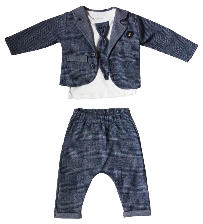 Комплект для мальчиков CANINI цв. сине серый