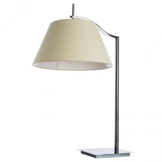 Настольная лампа Divinare Soprano 1341/02 TL-1, серый/хром