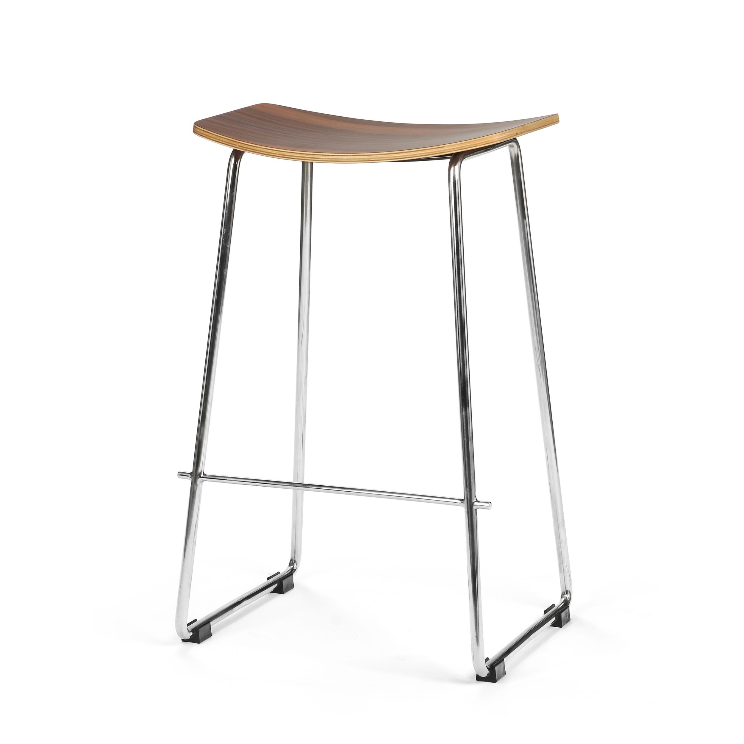 Барный стул Cosmo Saddle 8695, хром