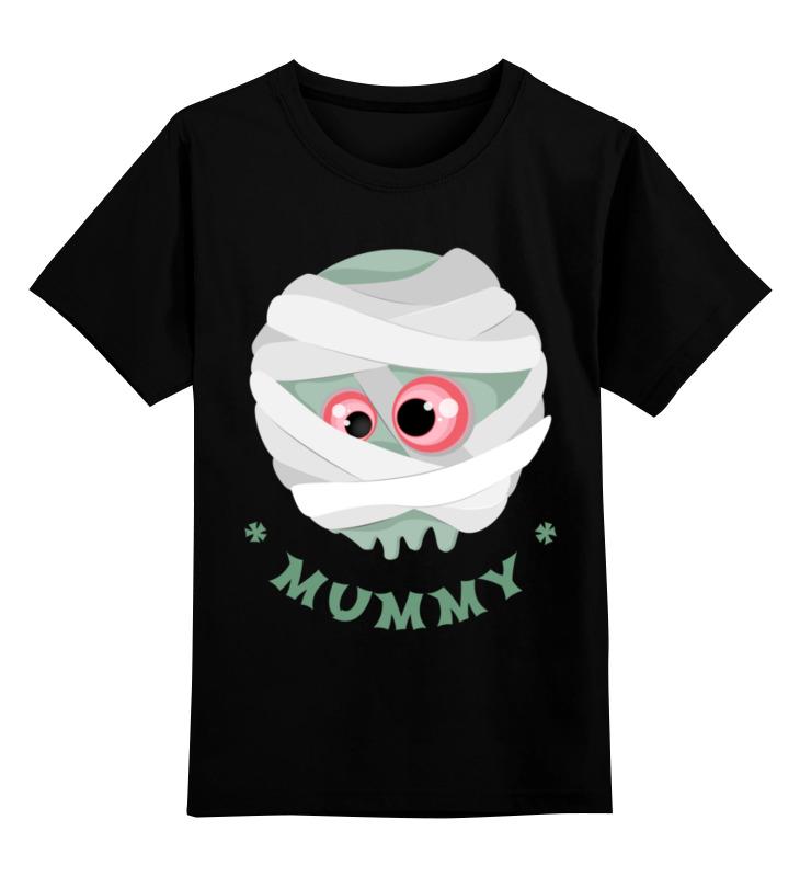 Детская футболка Printio Мумия цв.черный р.116 0000002916298 по цене 990