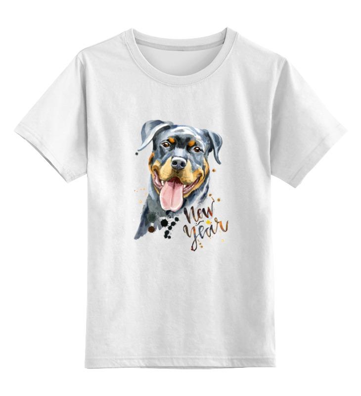 Детская футболка Printio Собачка цв.белый р.116 0000002920413 по цене 790