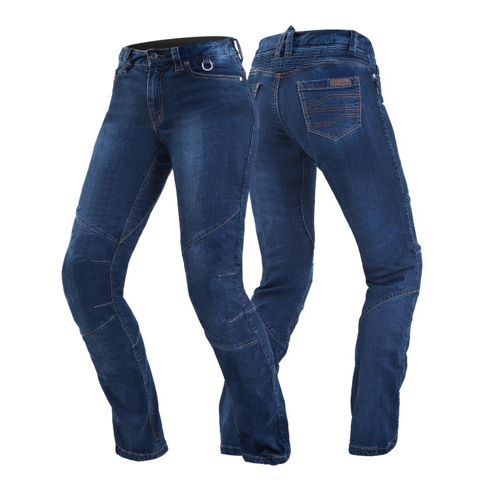 Мотоджинсы женские SHIMA SANSA blue размер 30