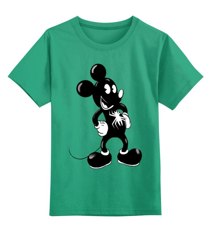 Купить 0000002985906, Детская футболка Printio Мышонок цв.зеленый р.116,