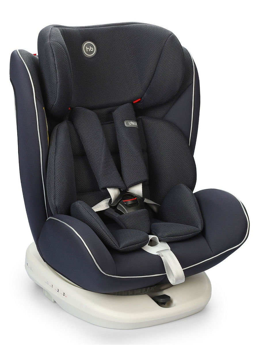 Автокресло Happy Baby Unix navy blue, 0-36 кг