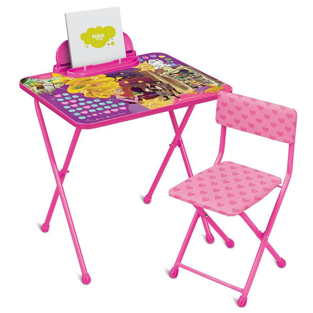 Набор мебели детский Ника Disney Рапунцель розовый