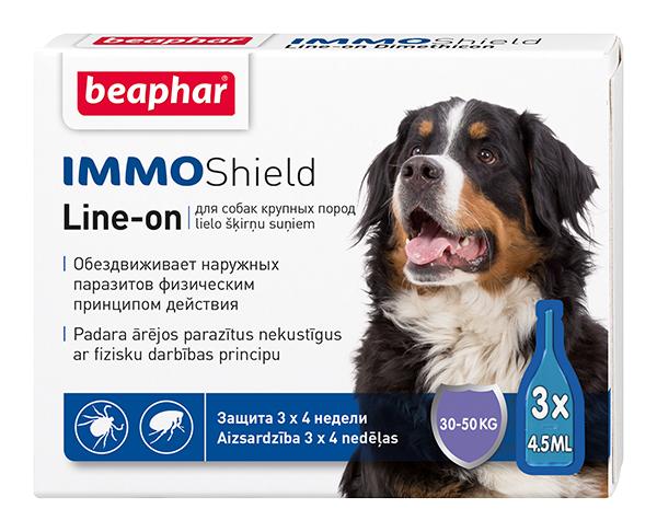 Капли для крупных собак против паразитов Beaphar