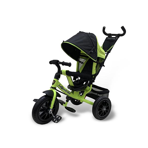 Велосипед трехколесный Lexus Trike светло-зеленый, колеса надувные 12\