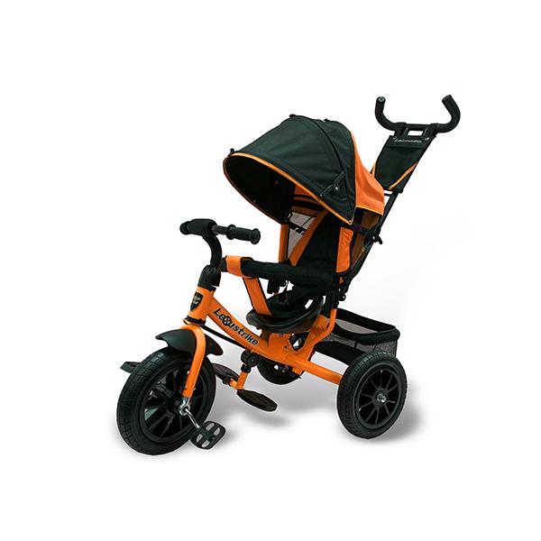 Велосипед трехколесный Lexus Trike оранжевый, колеса надувные 12\