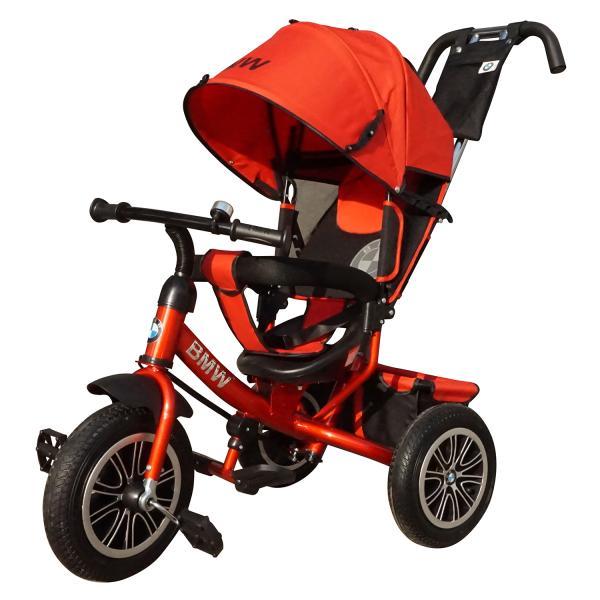 Велосипед трехколесный Lexus Trike BMW красный, колеса надувные 12\