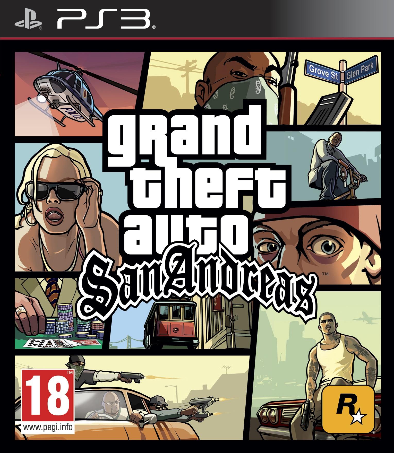 Игра Grand Theft Auto: San Andreas для PlayStation 3 Sony