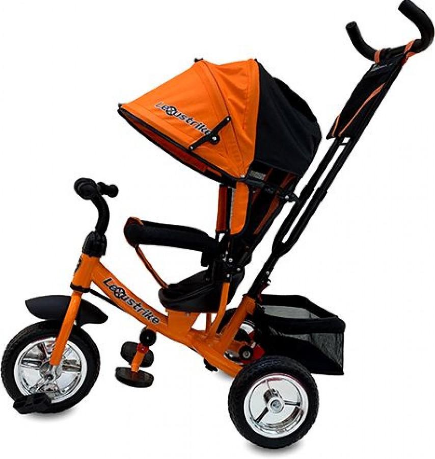 Велосипед трехколесный Lexus Trike оранжевый, колеса 10\