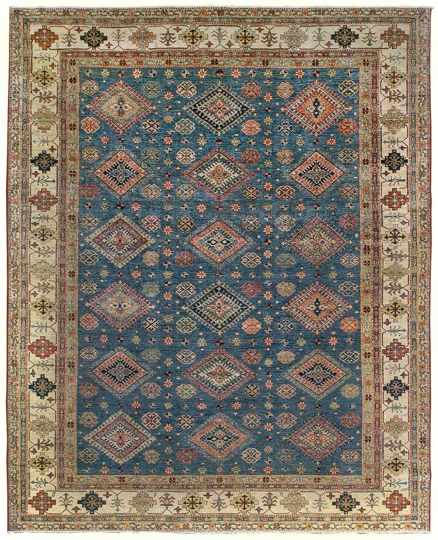 Шерстяной ковер ручной работы коллекции «Kazak Royal» 55241, 239x295 см
