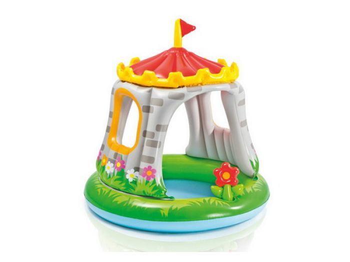 Купить Бассейн надувной детский Intex Royal Castel Pool 122x122 см, Детские бассейны
