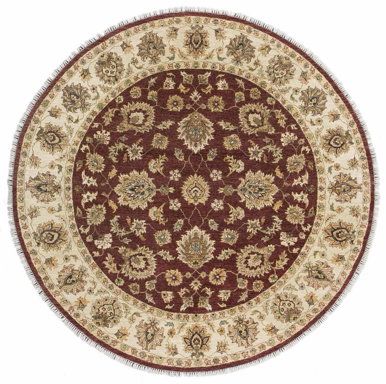 Круглый шерстяной ковер ручной работы коллекции «Gazni Kanu» 34307, 247x247 см