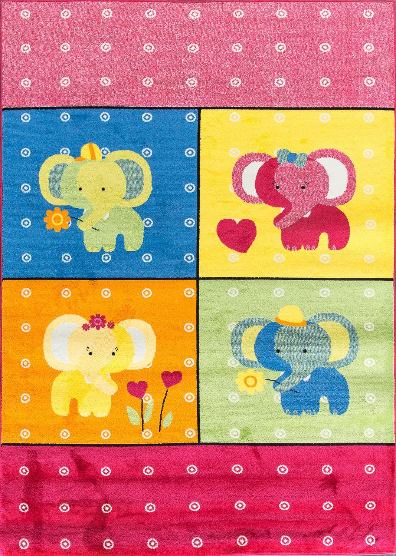 Синтетический ковер коллекции «Bambino», 26441, 80x150 см