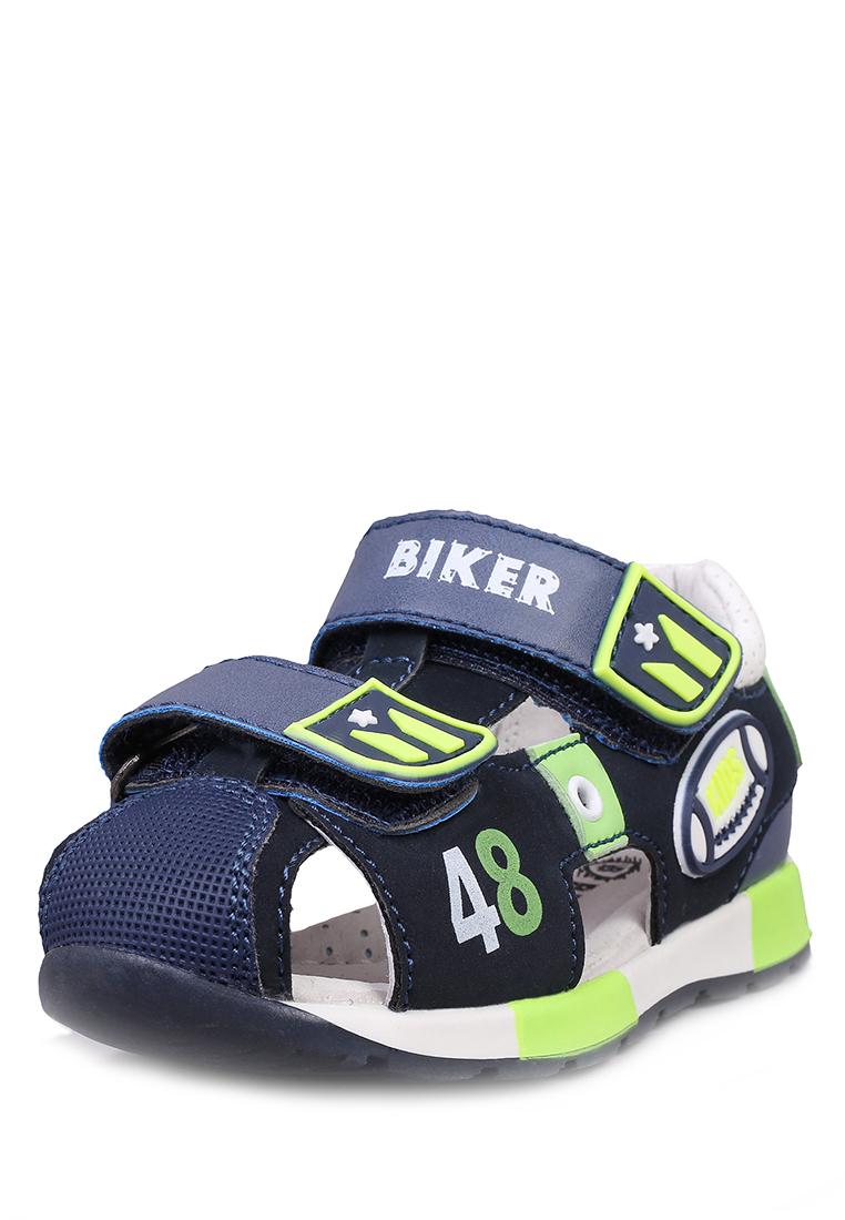 Купить JSD19S-147A, Сандалии детские Biker, цв. синий р.22,