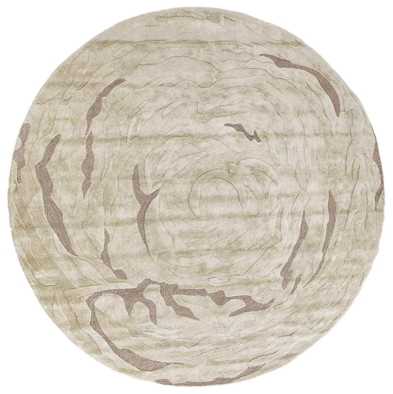 Круглый ковер  ручной набивки коллекции «Damasc», 55939, 250x250 см