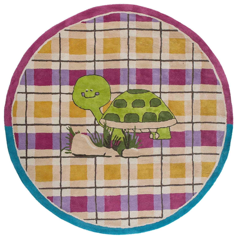 Круглый ковер  ручной набивки коллекции «Happy Day», 55962, 200x200 см