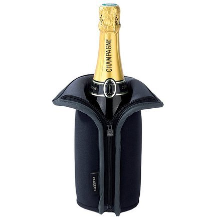 Peugeot Чехол для охлаждения вина Frio, черный
