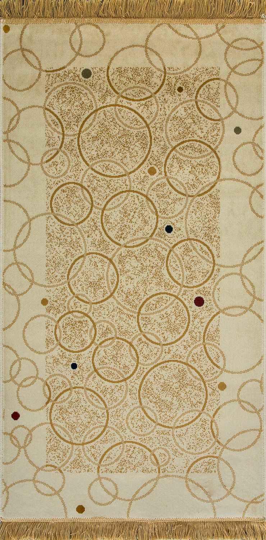 Ковер из вискозы коллекции «Brilliance», 43119, 80x150 см