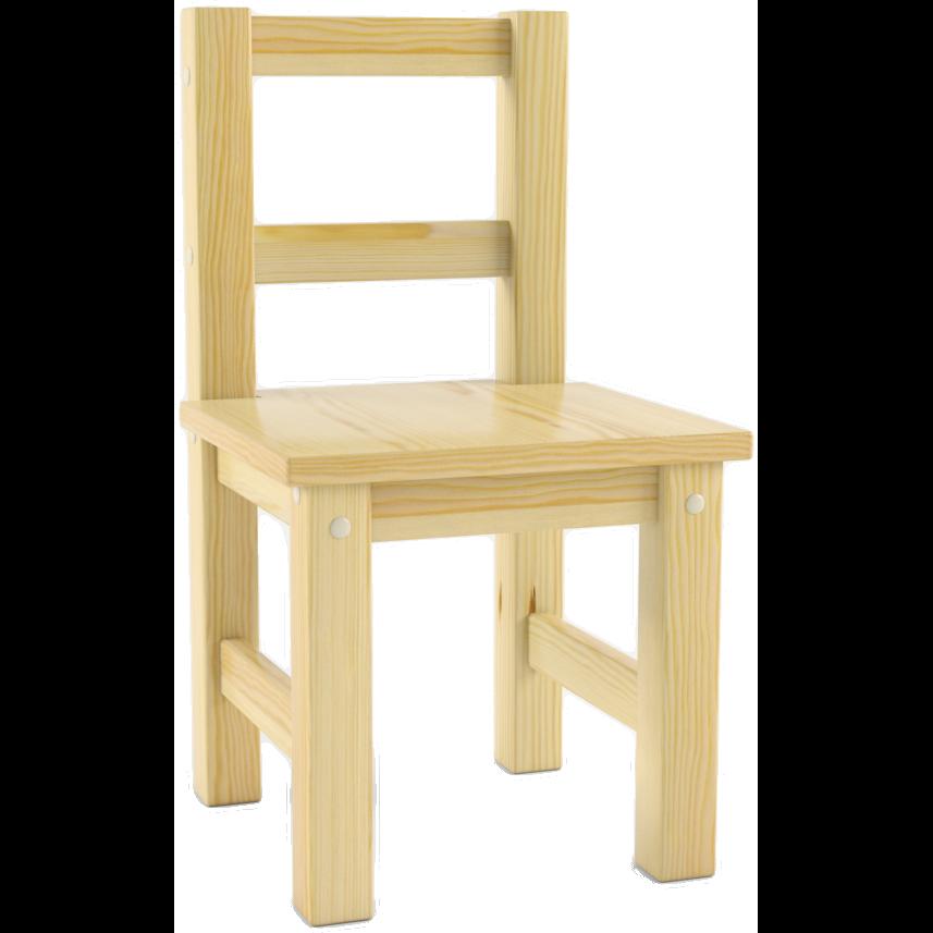Детский деревянный стул Русские Игрушки сосна, не окрашен