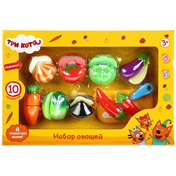 Набор овощей и фруктов Три кота.