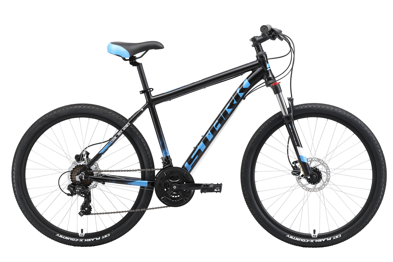 STARK Велосипед Stark Indy 26.2 HD (2019) чёрный/зелёный/белый 20
