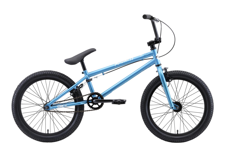 STARK Велосипед Stark Madness BMX 1 (2020) синий/белый one size фото