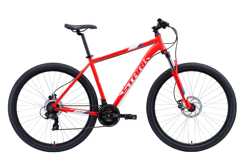 STARK Велосипед Stark Hunter 29.2 HD (2020) красный/белый/серый 20