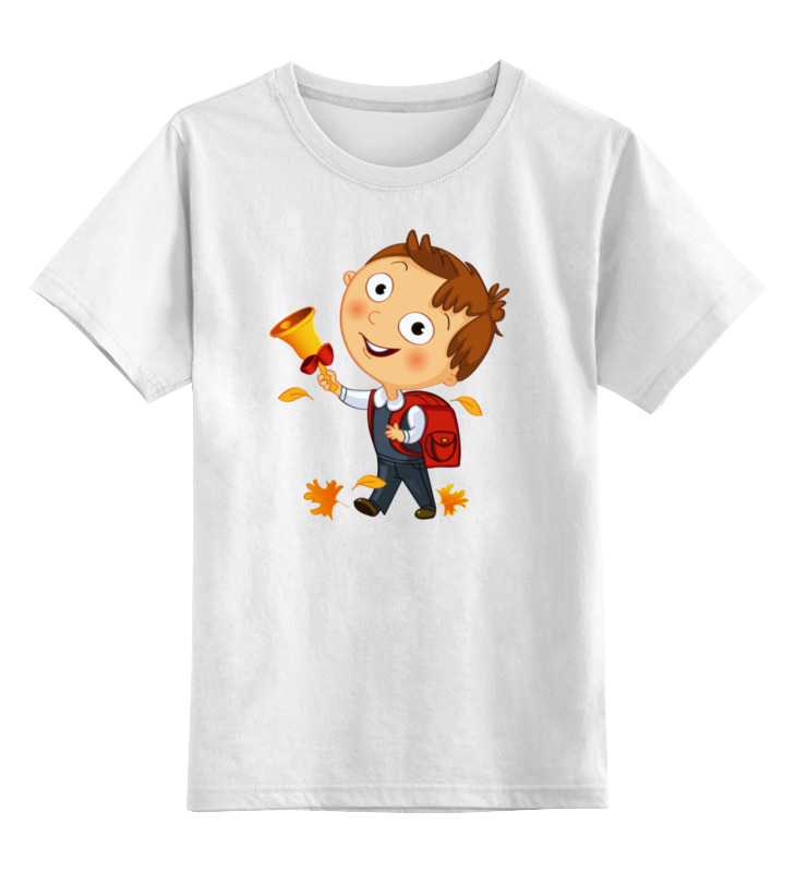 Детская футболка Printio 1 сентября.первый звонок.день знаний цв.белый р.116 0000002878117 по цене 790