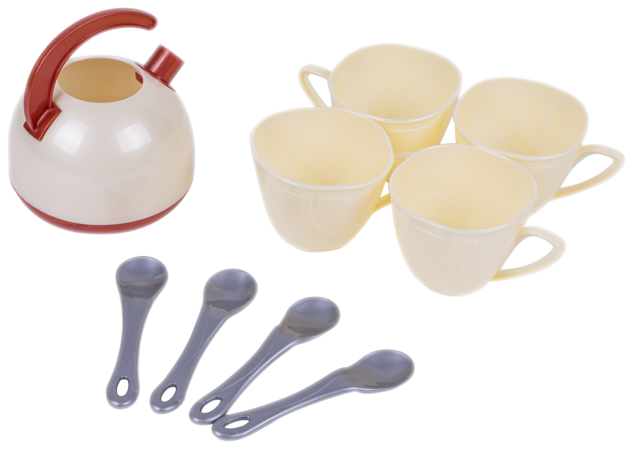 Купить Набор посуды игрушечной, 9 предметов, арт. 924в.4, Orion,