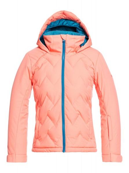 Детская сноубордическая куртка Breeze Girl 8-16 коралловый 14/XL Roxy ERGTJ03095