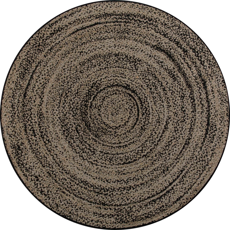 Круглый синтетический ковер коллекции «Indy», 56118, 160x160 см