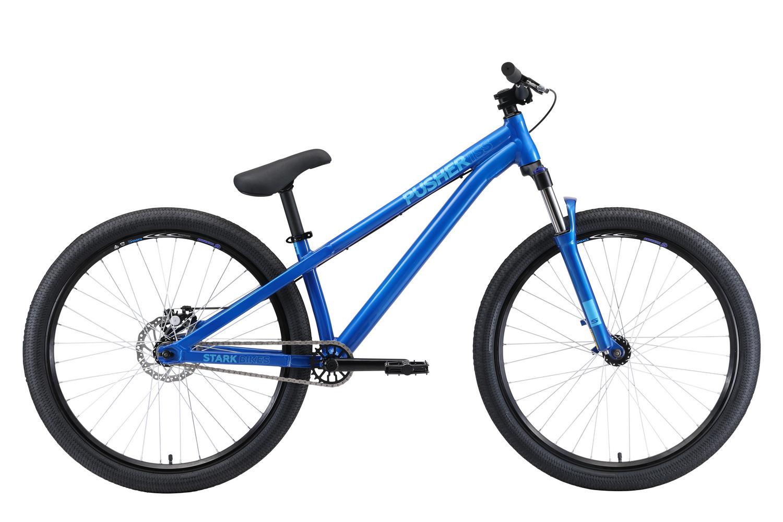 STARK Велосипед Stark Pusher 1 SS (2020) голубой/синий S фото