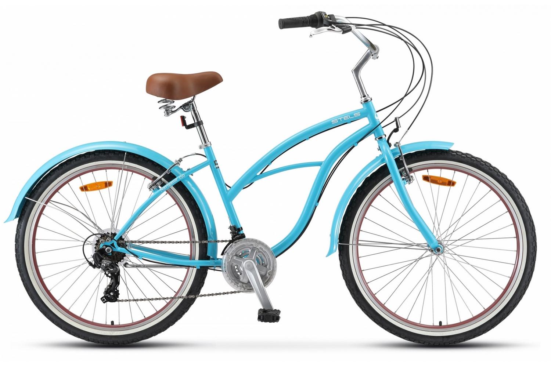 STELS Велосипед Stels Navigator 150 Lady 21-sp V010 синий 17