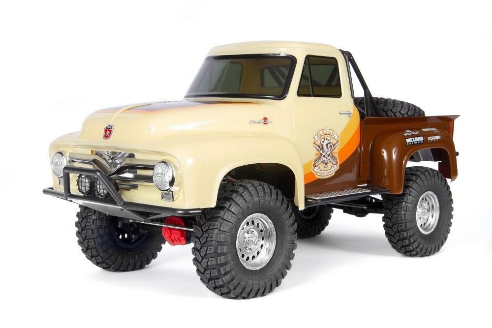 Купить Радиоуправляемая машинка Axial SCX10 II 1955 Ford 4wd RTR 1:10 Brown,