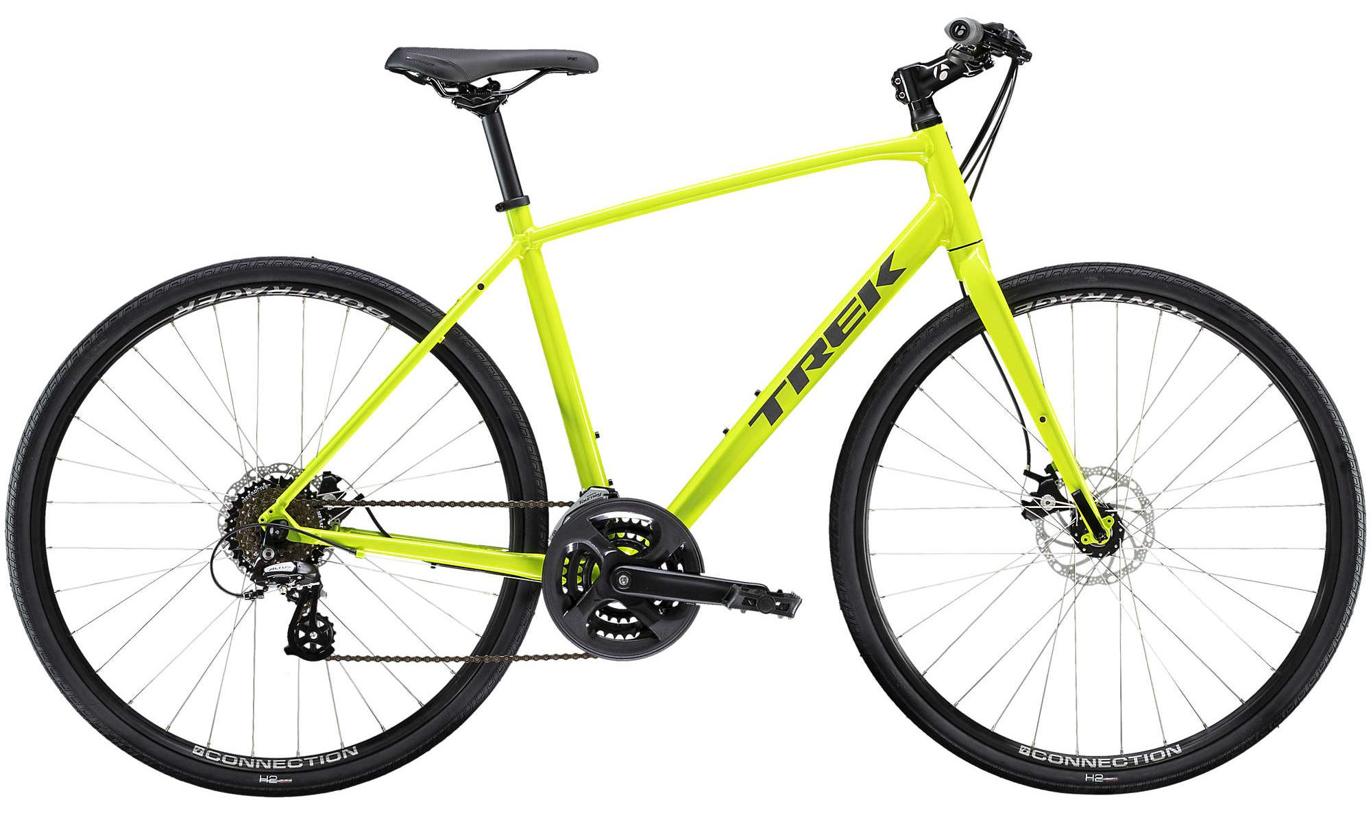 TREK Велосипед TREK FX 1 DISC (2020) желтый M фото