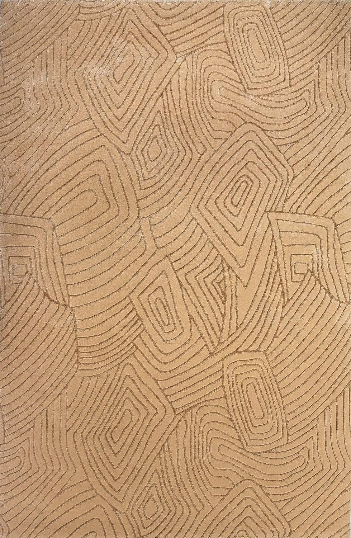 Шерстяной ковер коллекции «Nepal Antique», 25105, 100x100 см