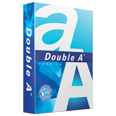 Бумага офисная Double A Premium, А4, класс