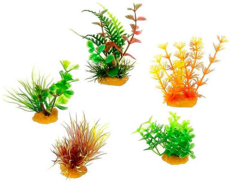 Набор искусственных растений для аквариума Prime