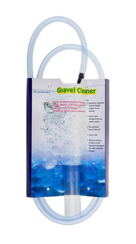 Сифон аквариумный с клапаномKW ZONE Gravel Vacuum